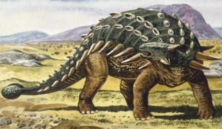 Американские ученые нашли новый вид гигантского динозавра с доспехами