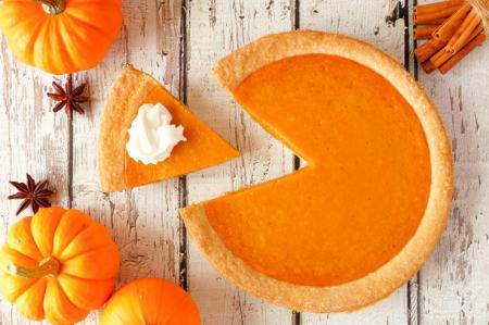 Американский тыквенный пирог, обязательный к приготовлению осенью
