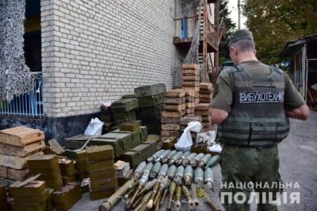 Полиция на Донбассе разоружила три добробата