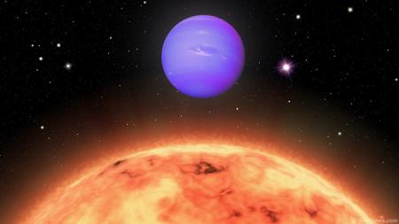 Новое исследование раскрывает атмосферу на горячем Нептуне