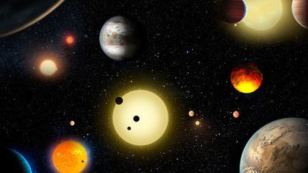 Названо количество потенциально обитаемых планет