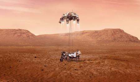 Марсоход NASA начал поиски следов жизни на красной планете
