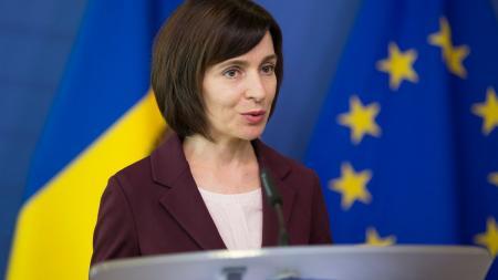 Санду завтра посетит Украину: в Киеве возможны ограничения движения