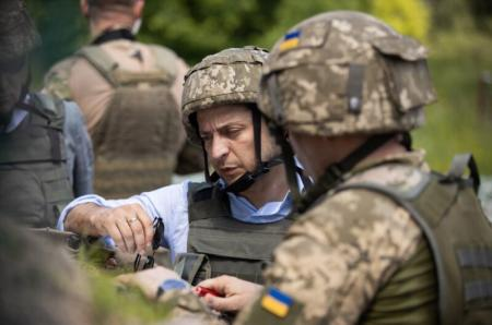 Зеленский упразднил дисциплинарный батальон ВСУ
