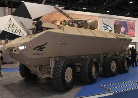 Укроборонпром показал новый БТР с боевым модулем БМ-3М Штурм, разработанный с компанией из ОАЭ