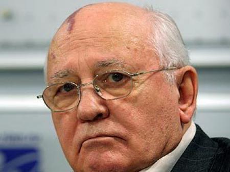 Горбачёв против военного вмешательства России в Украине