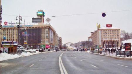 В Киеве 8 марта перекроют центр города