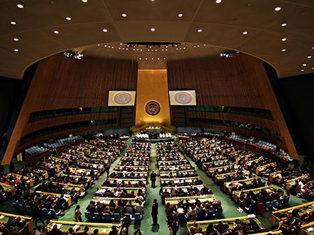 Комитет Генассамблеи ООН принял резолюцию по Крыму