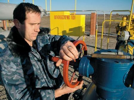 Украина резко увеличила потребление газа