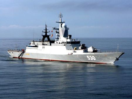 Российские военные корабли взяли курс к границам НАТО