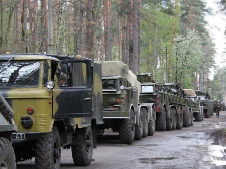 ОБСЕ: Из территории ОРДО в РФ выезжают грузовики с пшеницей