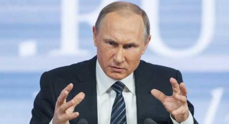 Путін звинуватив Україну в нібито підтягуванні техніки на Донбас
