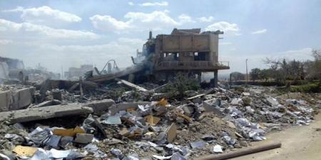В Сирии утверждают, что разрушенный центр в Дамаске делал лекарства от рака