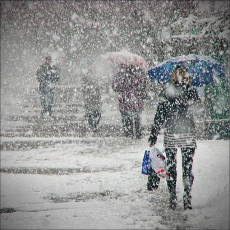 В Украину надвигаются сильные морозы и снегопады