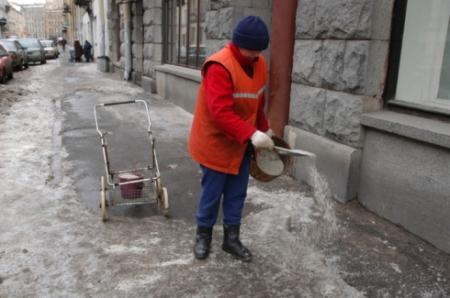 В Мининфраструктуры пожаловались на нехватку соли