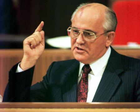Бывший лидер СССР Михаил Горбачев снялся в рекламе пиццы