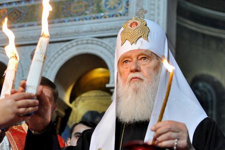 УПЦ КП отрицает запрет патриарху Филарету возглавлять поместную церковь