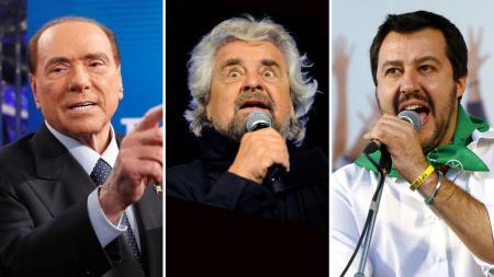 На выборах в Италии победу прогнозируют коалиции Берлускони