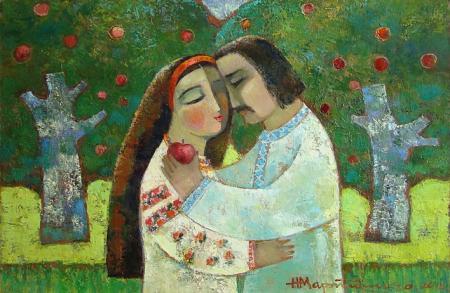 Украинский рай на полотнах Надежды Мартыненко