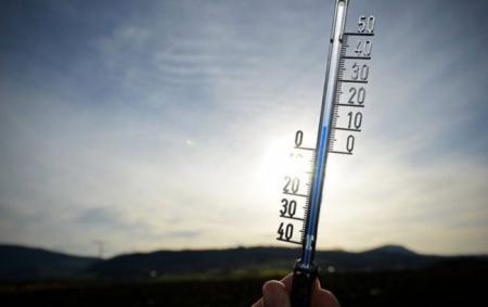 В Украину идет небольшое потепление