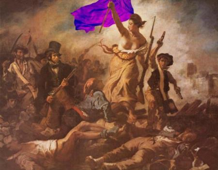 Фиолетовая эрзац-революция. Фиолетовый Мир. Фиолетовый Труд. Фиолетовый Май