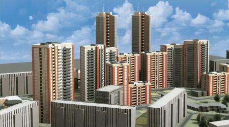 Минрегион предлагает ограничить плотность населения при застройки крупных городов