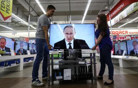 Путин отказался от бесплатного эфира для дебатов на радио и ТВ