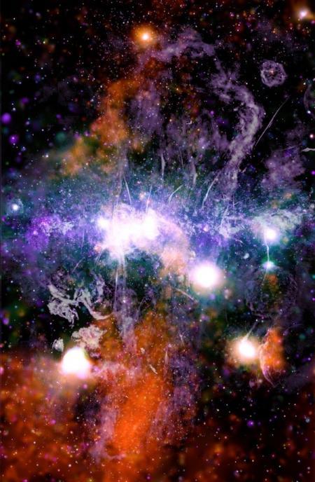 Изображение центра галактики намекает на новый космический феномен