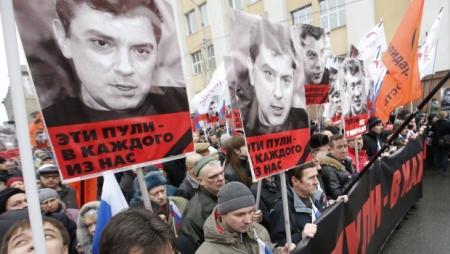 Марш Немцова: Мы отдали Россию негодяям