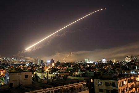 The Washington Post опубликовали снимки последствий ракетного удара по Сирии