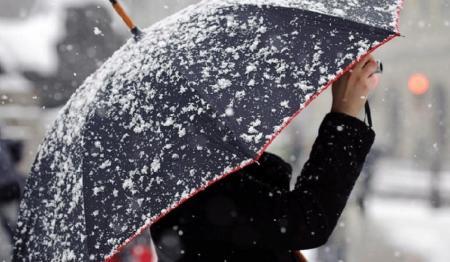 Зима начнется с мокрого снега