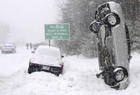 Снегопады в США установили 30-летний рекорд
