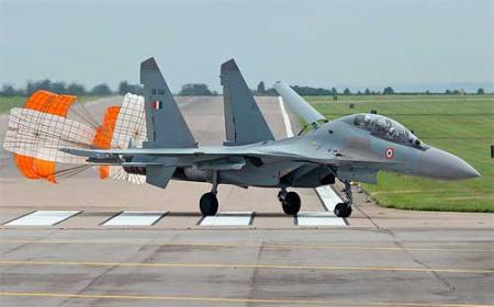 В Индии разбился истребитель Су-30МКИ