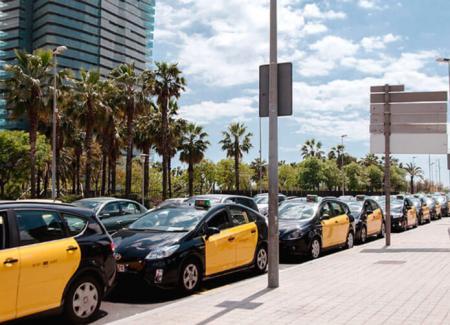 Забастовка в валенсии голых таксистов вас