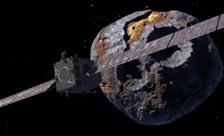 Телескоп Hubble изучил один из самых интересных и загадочных астероидов -  Психею