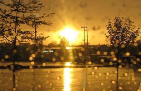 В Украину идет потепление, но с дождями